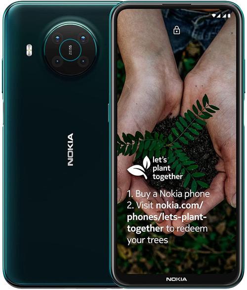 Nokia X10 5G 4GB RAM 128GB Dual Sim -  Forest Green