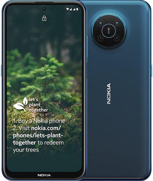 Nokia X20 5G 8GB RAM 128GB Dual Sim - Blue
