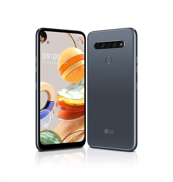 LG K61 - LMQ630 Dual Sim 4GB 128GB Mobile Android SmartPhone - Titan