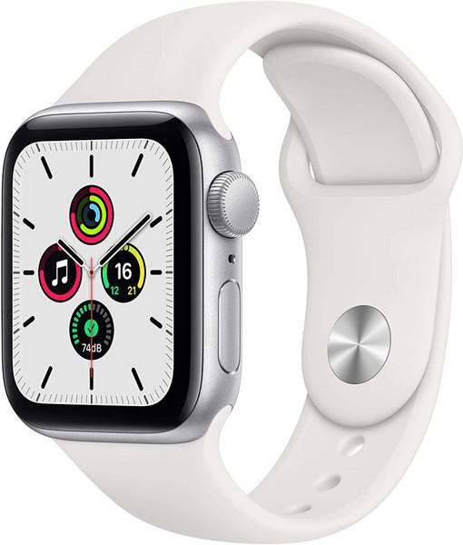 Smartwatch Apple Watch SE 40mm Silver White Sport Band
