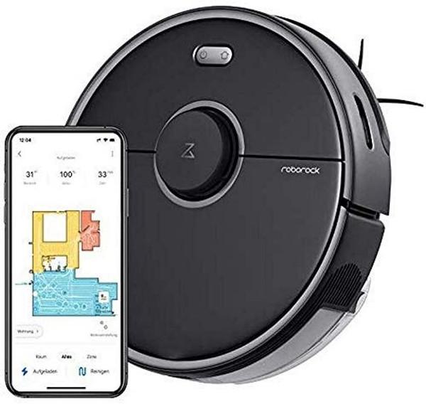 Xiaomi Roborock S5 Max Robotic Vacuum Cleaner - Black