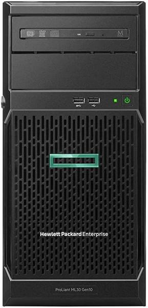 "HPE ProLiant ML30 Gen10 - Server - tower - 4U - 1-way - 1 x Xeon E-2234 / 3.6 GHz - RAM 16 GB - SATA - hot-swap 3.5"" bay(s) - no HDD - GigE - monitor: none"