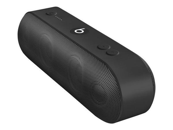 Beats Pill+ - Speaker - for portable use - wireless - Bluetooth - 2-way - black - for 10.2-inch iPad, 10.5-inch iPad Air, iPad mini 5, iPhone 11, XR, XS, XS Max, TV HD