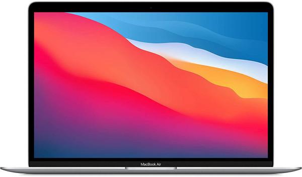 """Apple MacBook Air with Retina display - M1 - macOS Big Sur 11.0 - 8 GB RAM - 256 GB SSD - 13.3"""" IPS 2560 x 1600 (WQXGA) - M1 7-core GPU - Bluetooth, Wi-Fi 6 - silver - kbd: UK"""