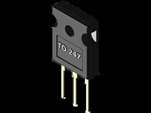 JW21195 : MJW21195 ; Transistor PNP 250V 16A 200W 4MHz, TO-247 BCE