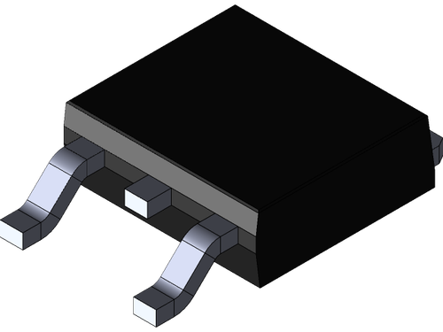 STD12N50M2 ; Transistor N-MOSFET 500V 10A 85W 0.325Ω, TO-252 DPAK GDS