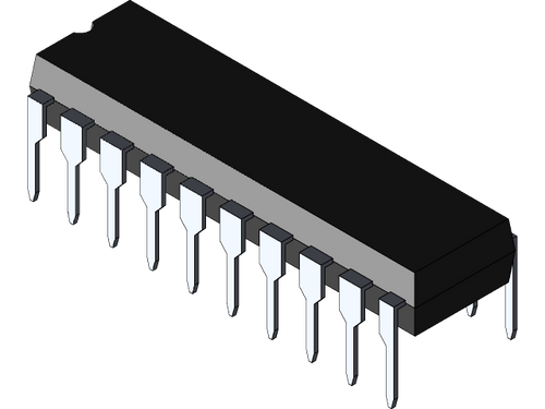 TPIC6B595N ; Power Logic 8-Bit Shift Register, DIP-20