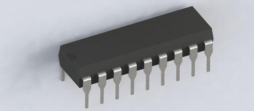 TDA1524A ; Stereo-tone/volume Control Circuit, DIP-18