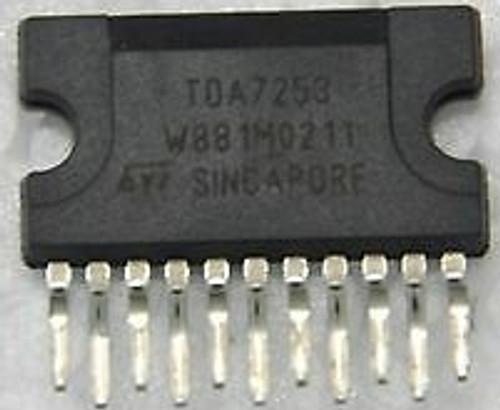 TDA7253 ; Audio Power Amplifier 8W, ZIP-11