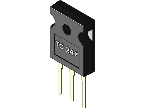 40N60A4 ; Transistor IGBT without Diode 600V 75A 63A 625W, TO-247 GCE