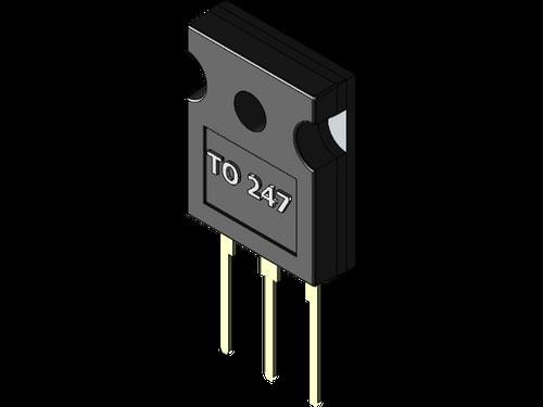 40TPS12A ; SCR Thyristor 1200V Irms:55A Iav:35A, TO-247 KAG