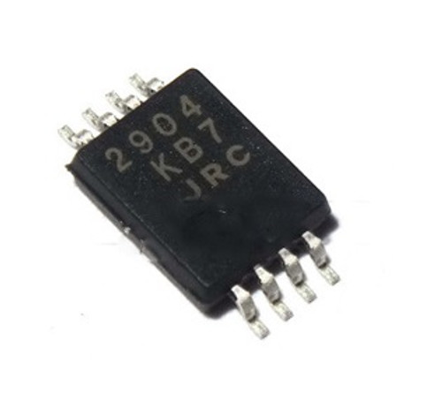 2904 : NJM2904V ; Dual Operational Amplifier Single or Dual Supply  ±16V 0.3W 0.6MHz, SSOP-8