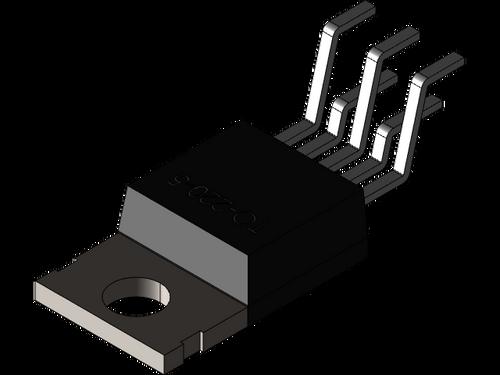LT1070HVIT ; High Efficiency Switching Regulator 5A, TO-220-5