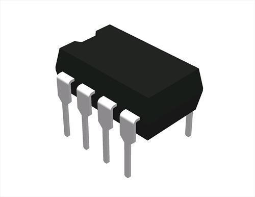 2630 : HCPL-2630 ; Optocopuler Dual-Channal High Speed 10MBit/s Logic Gate, DIP-8