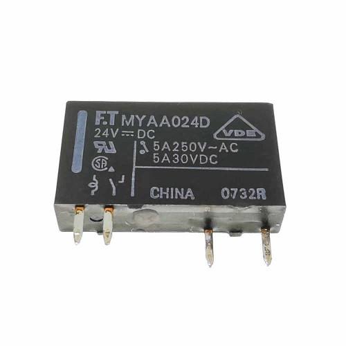 MYAA024D ; Relay 24VDC 5A 250VAC NO 1 FORM A