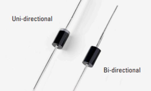 1.5KE15A ; Transient Voltage Suppressor TVS Uni-directional 14.3V, DO-201