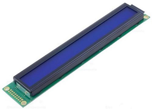 RC4002A-BIW-JSX ; Display LCD Alphanumeric 40x2 blue 16-pin