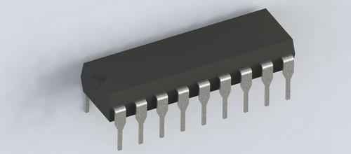 CM8870PI ; DTMF Receiver Band Split Filter and Digital Decoder, DIP-18