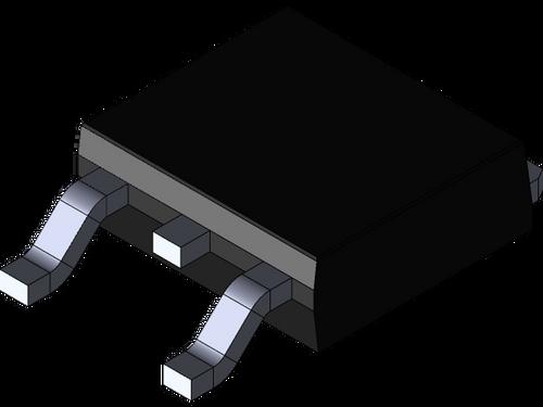 LM317M ; Adjustable Regulator, TO-252 (2 pcs)