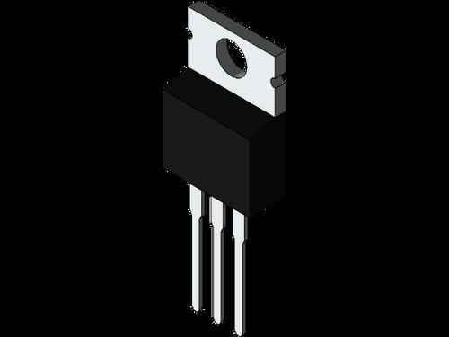 BUX84 ; Transistor NPN 400V 2A 40W 12MHz, TO-220 BCE