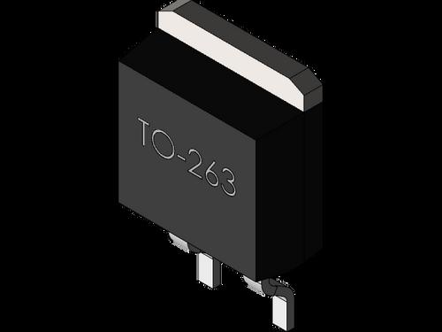 FDB603AL ; Transistor N-MOSFET Logic 30V 33A 50W 18mΩ, TO-263 D2PAK GDS