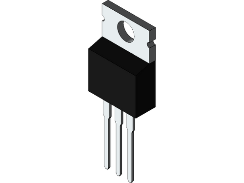 IRFZ24N ; Transistor N-MOSFET 55V 17A 45W 70mΩ, TO-220 GDS
