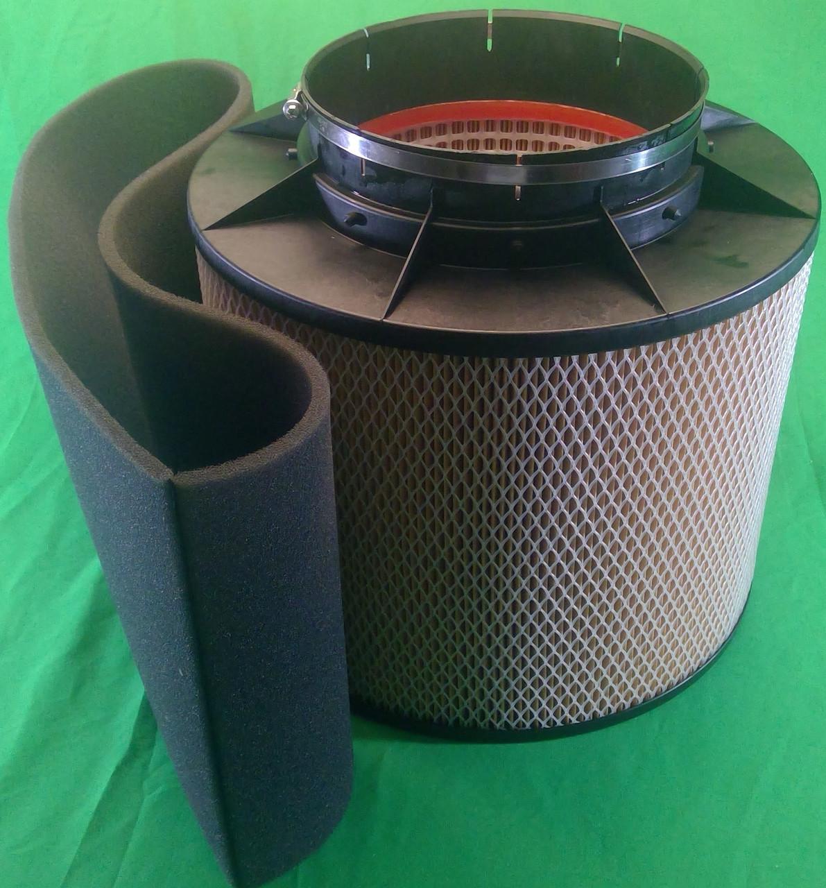 MC431090F3845 MTU Foam Wrap 0180943002 Pre-Filter