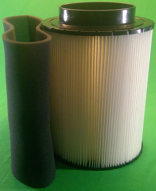 B120376 Air Filter with the Foam Wrap