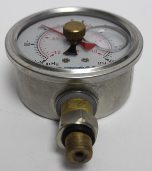 SM30650-1 Compond Gauge 0-30 in.Hg/0-15 PSI