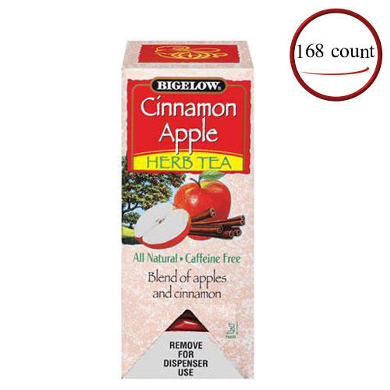Bigelow Cinnamon Apple Herbal Tea 168 Bags