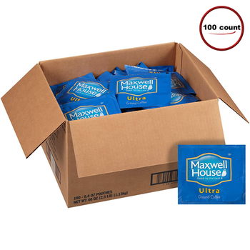 Maxwell House Ultra Coffee Filter Pack 100 C/T