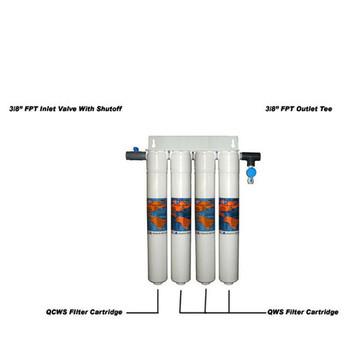 Omnipure EFS4 Quad Espresso Machine Water Filter