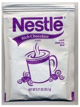 Nestle Rich Hot Cocoa Mix Packets 50 C/T