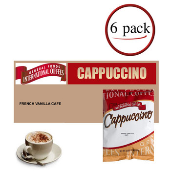 General Foods International French Vanilla Cappuccino Mix