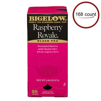 Bigelow Raspberry Royal Tea 168 Bags