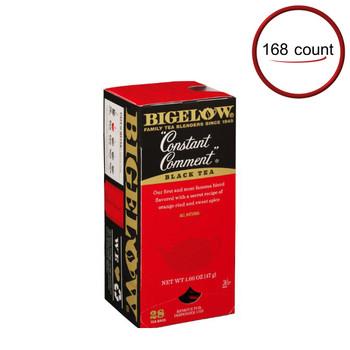 Bigelow Constant Comment Tea 168 Bags Dispenser Box