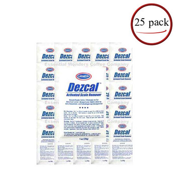 Urnex Dezcal Activated Scale Remover 25 C/T