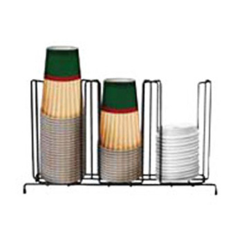 HHD 3 Section Cup/Lid Rack