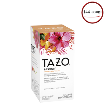 Tazo Passion Tea 2.2 oz. Tea Bags 144 C/T