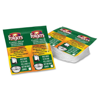 Folgers Decaffeinated Coffee Vackets 42 C/T