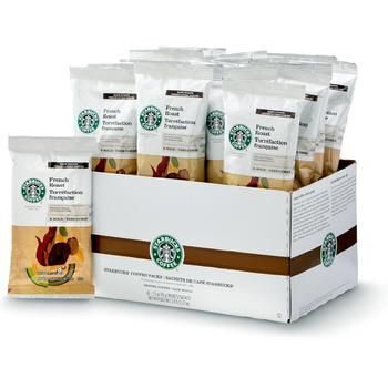 Starbucks French Roast Coffee Packets 72/CT 2.5 oz