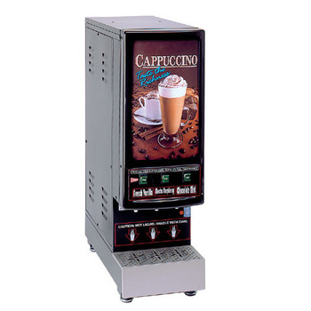GMCW 3K-GB-LD  3 Hopper Powdered Cappuccino Machine