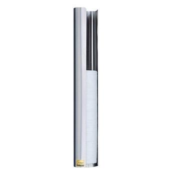 San Jamar Medium Stainless Steel Lid Dispenser