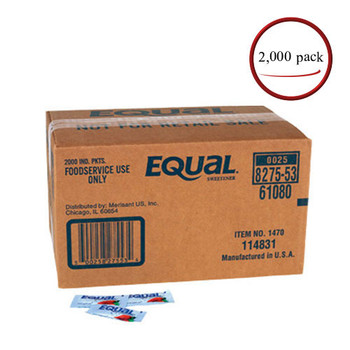 Equal Sweetener 2000 Packets