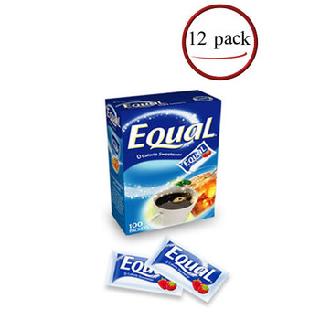 Equal Sweetener 12/100 Count Boxes