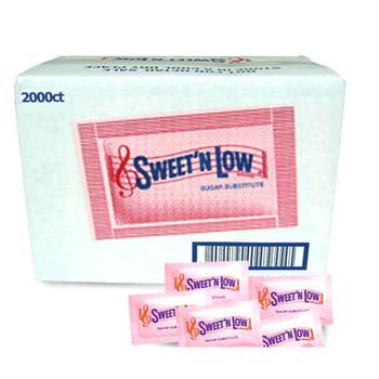 Sweet N Low Sweetener 2000 Packets