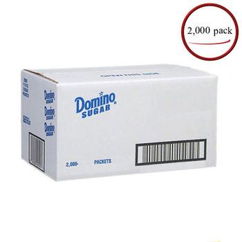 Domino Granulated Sugar Packets 2,000 C/T