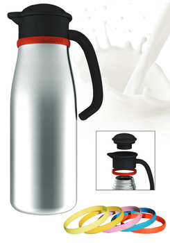 Newco Labeled Stainless Steel Milk/Cream Carafe