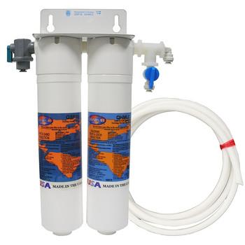 Omnipure UFS water cooler filtration system.