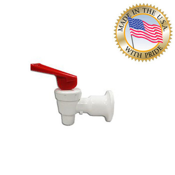 Tomlinson Water Cooler Faucet Assembly White/Red